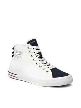 Tommy Hilfiger Tommy Hilfiger Sneakersy Liability Midcut High Vulc FM0FM03619 Biały