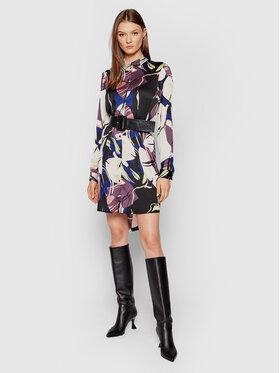 Vero Moda Vero Moda Sukienka koszulowa Laila 10258714 Kolorowy Relaxed Fit