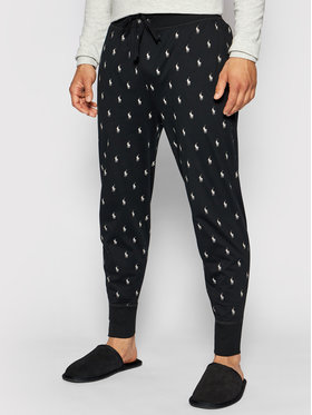 Polo Ralph Lauren Polo Ralph Lauren Pantaloni pijama Spn 714830279001 Negru Regular Fit