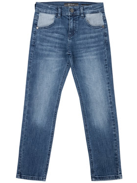 Guess Guess Τζιν L01A05 D3QS0 Σκούρο μπλε Slim Fit