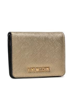 LOVE MOSCHINO LOVE MOSCHINO Malá dámská peněženka JC5562PP0ALQ0901 Zlatá