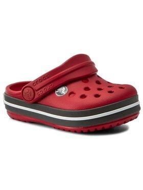 Crocs Crocs Klapki Crocband Clog K 204537 Czerwony