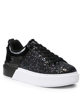 Guess Guess Sneakersy FL8HR2 FAM12 Čierna