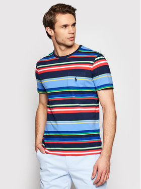 Polo Ralph Lauren Polo Ralph Lauren T-Shirt Ssl 710835044001 Barevná Custom Slim Fit
