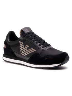 Emporio Armani Emporio Armani Sneakers X4X215 XM561 N218 Negru