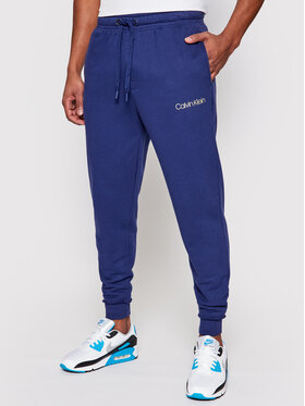Calvin Klein Underwear Calvin Klein Underwear Teplákové kalhoty 000NM2167E Tmavomodrá Regular Fit
