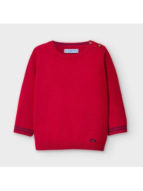 Mayoral Mayoral Maglione 351 Rosso Regular Fit