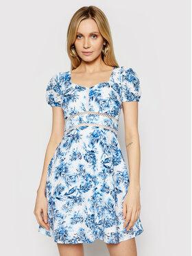 Guess Guess Letní šaty W1GK1A WDVB1 Modrá Regular Fit