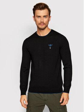 Aeronautica Militare Aeronautica Militare Sweater 212MA1344L415 Fekete Regular Fit