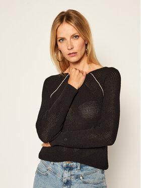 Calvin Klein Calvin Klein Sweter Coiled K20K202040 Czarny Regular Fit