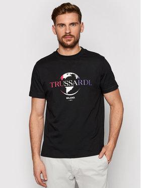 Trussardi Trussardi T-Shirt Pure 52T00443 Schwarz Boxy Fit