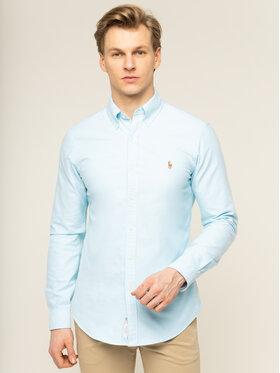 Polo Ralph Lauren Polo Ralph Lauren Košile Classics 710784299011 Modrá Slim Fit
