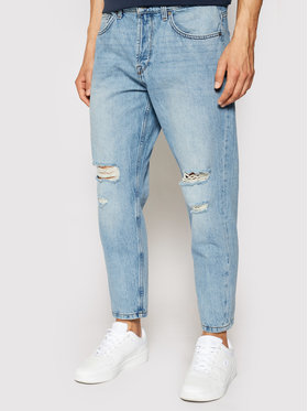 Only & Sons Only & Sons Džinsai Avi Beam Life Crop 22019569 Mėlyna Relaxed Fit