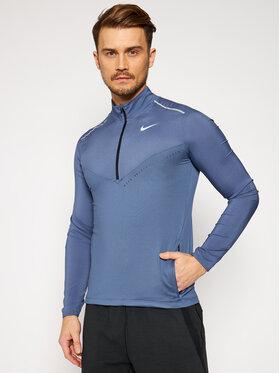 Nike Nike Тениска от техническо трико Element CJ5705 Син Standard Fit