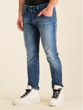 Diesel Diesel Skinny Fit Jeans Bazer 00SSLL 0097Y Dunkelblau Tapered Fit