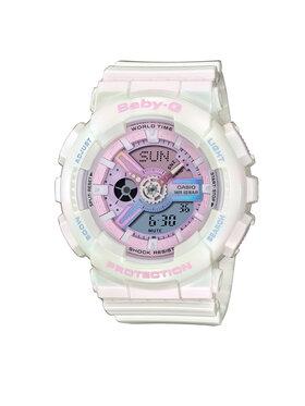Baby-G Baby-G Zegarek BA-110PL-7A1ER Biały