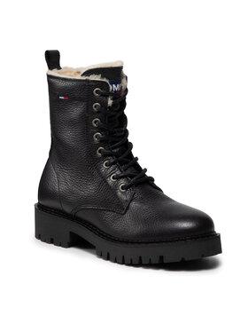 Tommy Jeans Tommy Jeans Trapery Warmlined Boot EN0EN01606 Czarny