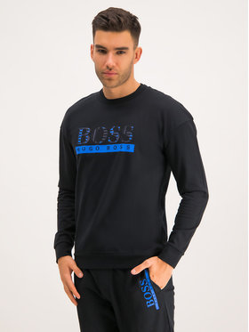 Boss Boss Sweatshirt Authentic 50420490 Schwarz Regular Fit