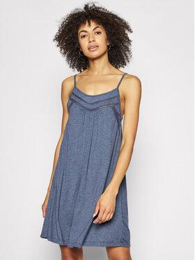 Roxy Roxy Φόρεμα καλοκαιρινό Rare Feeling ERJKD03295 Σκούρο μπλε Regular Fit