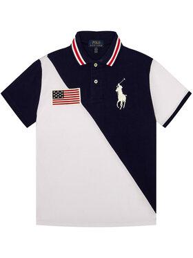 Polo Ralph Lauren Polo Ralph Lauren Polo marškinėliai Summer 322786425002 Balta Regular Fit