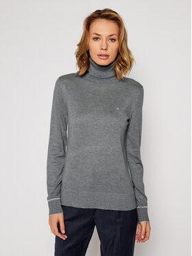 Calvin Klein Calvin Klein Golfas Ls Roll Neck K20K202244 Pilka Regular Fit