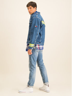 Tommy Jeans Tommy Jeans Geacă de blugi Oversized Denim Trucker DM0DM07596 Bleumarin Oversize