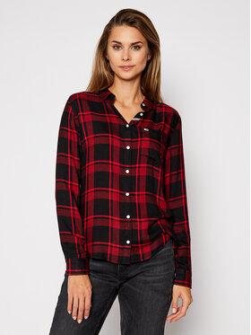 Tommy Jeans Tommy Jeans Košile Tjw Fluid DW0DW09138 Červená Regular Fit