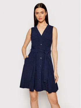 DKNY DKNY Ежедневна рокля DD1A7685 Тъмносин Regular Fit