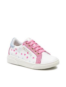 Guess Guess Sneakersy FI7MIL ELE12 Bílá