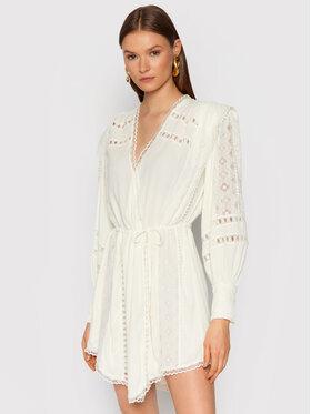 IRO IRO Sukienka koktajlowa Cassie AP541 Biały Regular Fit