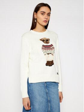 Polo Ralph Lauren Polo Ralph Lauren Sweater 211827358001 Bézs Regular Fit