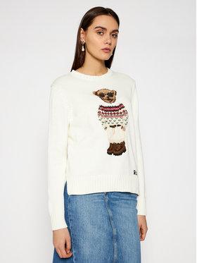 Polo Ralph Lauren Polo Ralph Lauren Sweter 211827358001 Beżowy Regular Fit