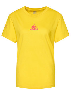 Vans Vans T-shirt Tri Boyfriend VN0A4SCY Jaune Regular Fit