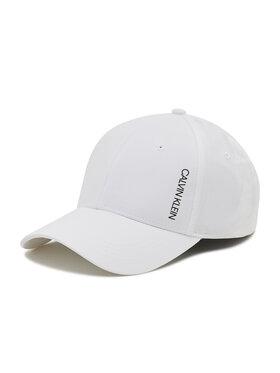 Calvin Klein Swimwear Calvin Klein Swimwear Kepurė su snapeliu KU0KU00085 Balta