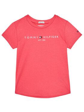 TOMMY HILFIGER TOMMY HILFIGER T-Shirt Essential Tee KG0KG05242 M Růžová Regular Fit
