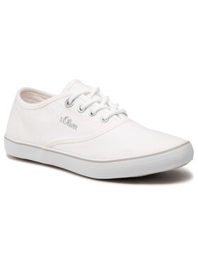 s.Oliver s.Oliver Sneakers aus Stoff 5-23685-26 Weiß