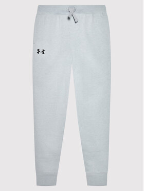 Under Armour Under Armour Donji dio trenerke Ua Rival 1357634 Siva Loose Fit