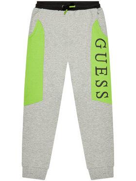 Guess Guess Pantalon jogging H1YJ05 KAD70 Gris Regular Fit