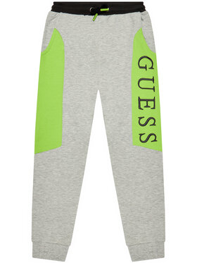 Guess Guess Παντελόνι φόρμας H1YJ05 KAD70 Γκρι Regular Fit
