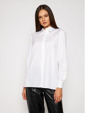 KARL LAGERFELD KARL LAGERFELD Marškiniai Embellished 206W1604 Balta Regular Fit