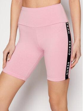 Guess Guess Sport rövidnadrág O1GA07 KABR0 Rózsaszín Slim Fit