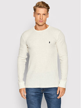 Polo Ralph Lauren Polo Ralph Lauren Marškinėliai ilgomis rankovėmis Crw 714830284005 Smėlio Regular Fit