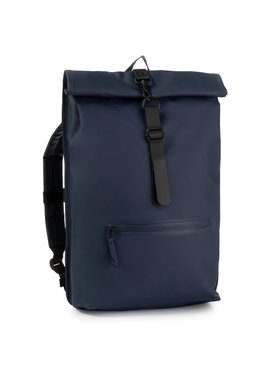 Rains Rains Zaino Roll Top Rucksack 1316 Blu scuro