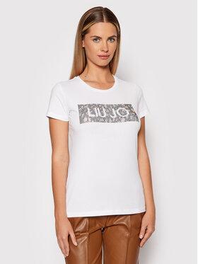 Liu Jo Liu Jo T-Shirt WF1434 J5003 Λευκό Regular Fit