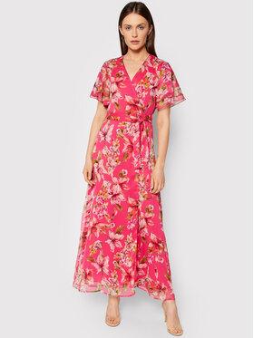 Liu Jo Liu Jo Sukienka letnia WA1517 T4837 Różowy Regular Fit
