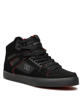 DC DC Sneakers Pure High-Top Wc ADYS400043 Nero