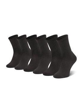 Under Armour Under Armour Комплект 3 чифта дълги чорапи мъжки Core Crew 3pk 1358345 Черен