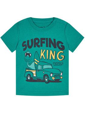Primigi Primigi T-Shirt Surfing King 45221011 Πράσινο Regular Fit