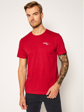 Tommy Jeans Tommy Jeans T-shirt Tjm Chest Corp Tee DM0DM09401 Rosso Regular Fit