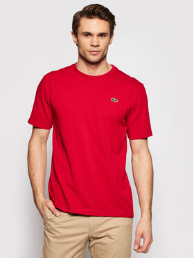 Lacoste Lacoste T-shirt TH7618 Rouge Regular Fit